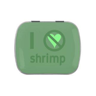 I Hate Shrimp Candy Tins