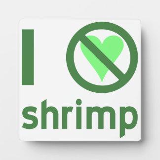I Hate Shrimp Photo Plaques