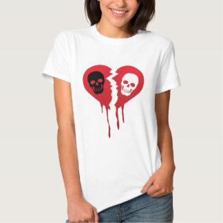 I hate skull tee shirt