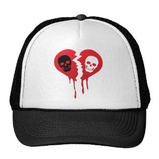 I hate skull trucker hat