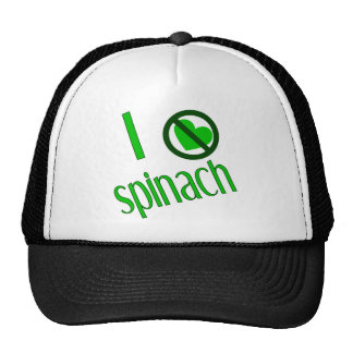 I Hate Spinach Trucker Hat