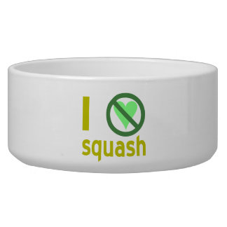 I Hate Squash Bowl