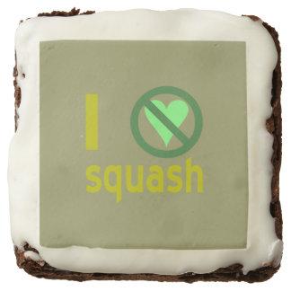 I Hate Squash Chocolate Brownie