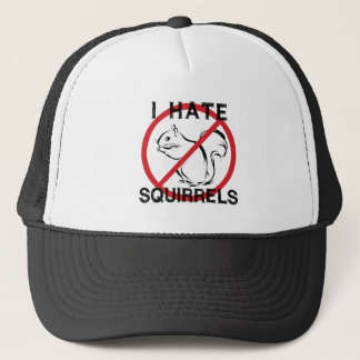 I Hate Squirrels Trucker Hat