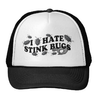 I hate stinkbugs mesh hats
