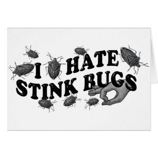 I hate stinkbugs! card