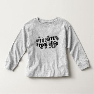 I hate stinkbugs! toddler t-shirt