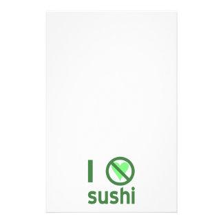 I Hate Sushi Stationery