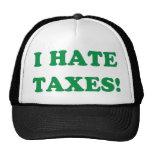 I Hate Taxes Trucker Hat