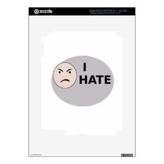 I Hate ... - Template iPad 3 Skin