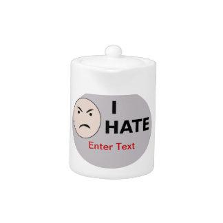I Hate ... - Template