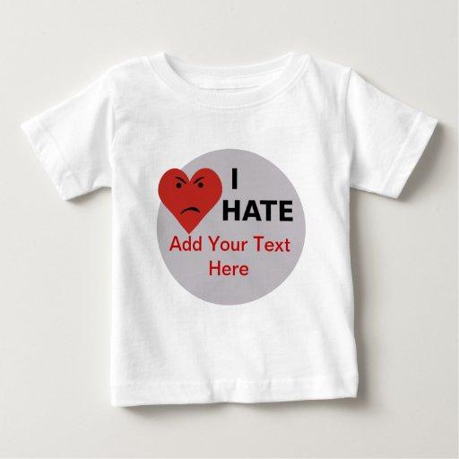 I Hate ... - Template Tees