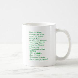 I hate the Huns Coffee Mug