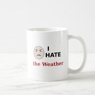 I Hate the Weather Coffee Mug