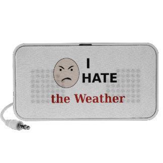 I Hate the Weather Mini Speaker