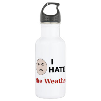 I Hate the Weather Water Bottle
