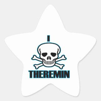 I Hate Theremin. Star Sticker