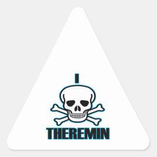 I Hate Theremin. Triangle Sticker