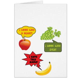 I hate this gam  - banana rage card