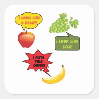 I hate this gam  - banana rage sticker