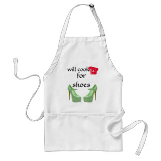 I Hate to Cook, Love Shoes Adult Apron