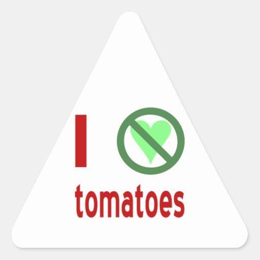 I Hate Tomatoes Sticker