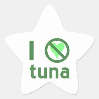 I Hate Tuna Star Sticker