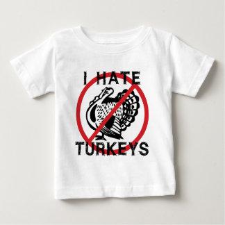 I Hate Turkeys Baby T-Shirt