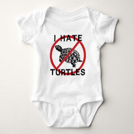 I Hate Turtles T-shirt