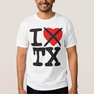 I Hate TX - Texas T-shirt