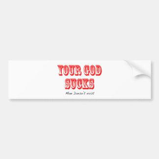 I-Hate-ur-god Car Bumper Sticker