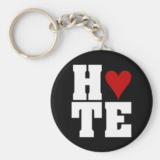 I Hate Valentine's Day Basic Round Button Keychain