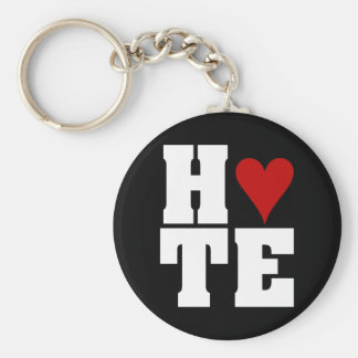 I Hate Valentine's Day Keychain