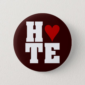 I Hate Valentine's Day Pinback Button