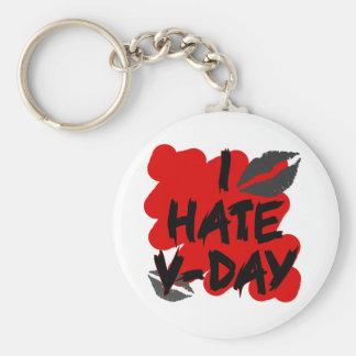 I hate vday key chains