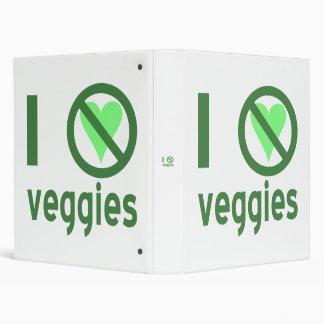 I Hate Veggies 3 Ring Binders