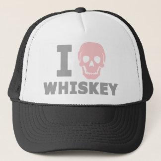 I Hate Whiskey Trucker Hat