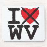 I Hate WV - West Virginia Mousepad