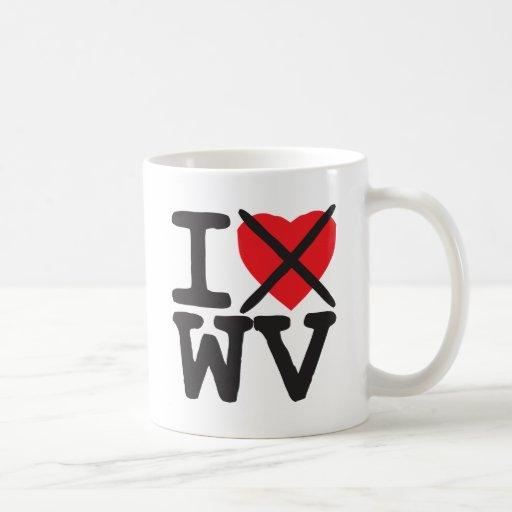 I Hate WV - West Virginia Mug