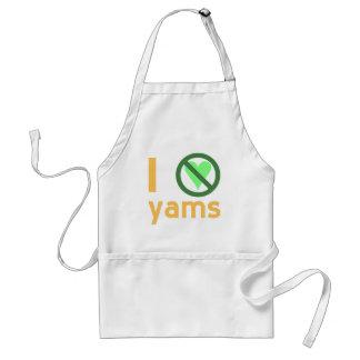 I Hate Yams Adult Apron