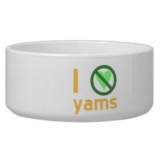 I Hate Yams Bowl