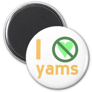 I Hate Yams Refrigerator Magnets