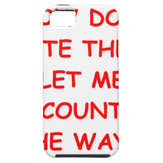 i hate you iPhone 5 case