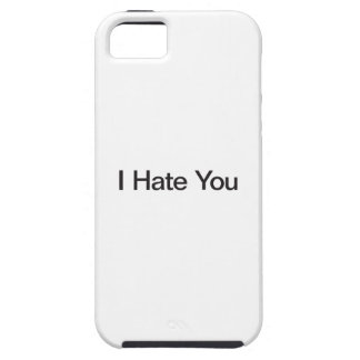 I Hate You iPhone 5 Cover