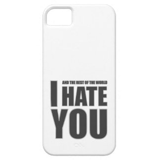 i hate you iPhone SE/5/5s case