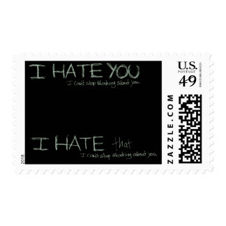 I Hate You... Stamp