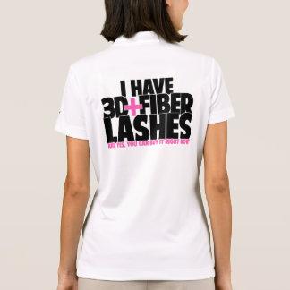 I have 3d + Fiber Lashes Polo Shirt
