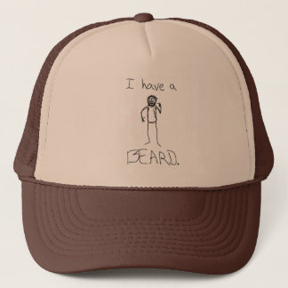 I Have A Beard Trucker Hat