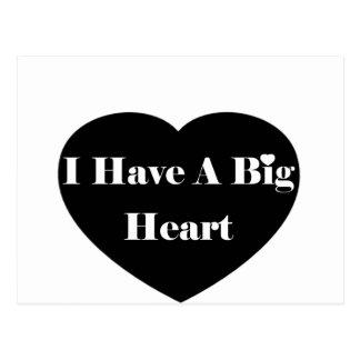 I Have A Big Heart Postcard