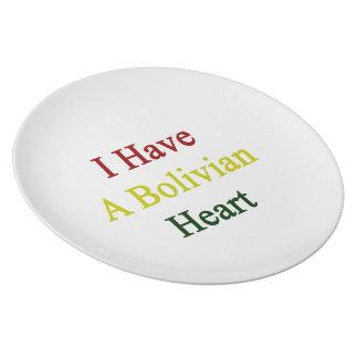 I Have A Bolivian Heart Plates
